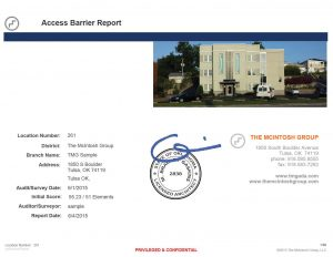 sample-barrier-report-cover-page